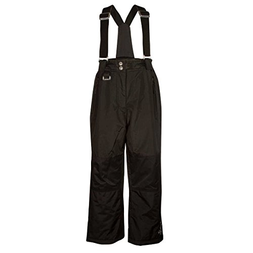 32 DEGREES Weatherproof Girls' Snow Pant (Black, X-Small) by 32 DEGREES