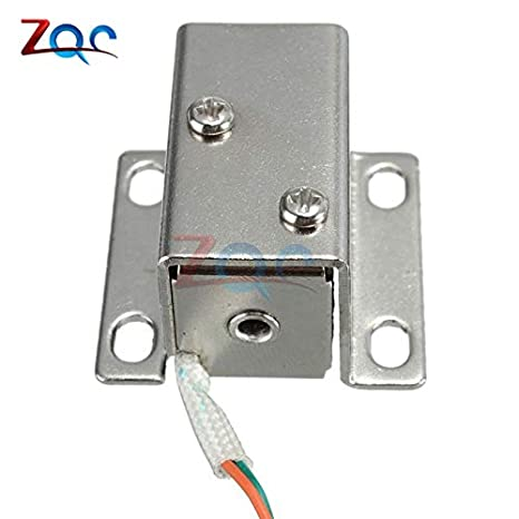 Hand & Power Tool Accessories Tools Dc 12v 350ma Mini Small Solenoid Electromagnetic Electric Control Cabinet Drawer Lock For Diy Project 27*29*18mm