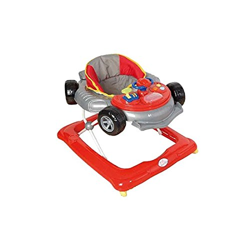 Andador para bebé, diseño fórmula 1 gris. Andador de actividades o ...