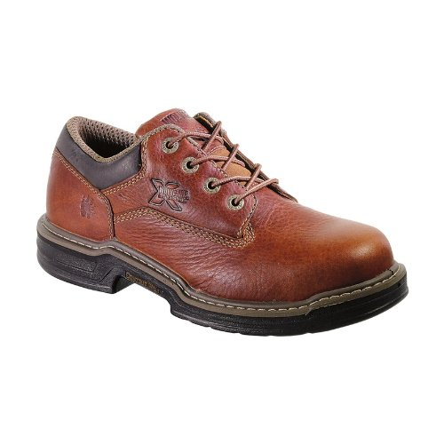 Wolverine Men's Raider Oxford Steel Toe EH Work Boot, Brown, 7.5 M US