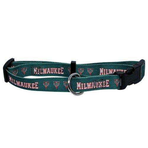 NBA Milwaukee Bucks Adjustable Pet Collar, Team Color, X-Large