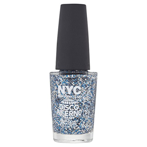 N.Y.C. New York Color Minute Nail Enamel, Disco Inferno, 0.33 Fluid Ounce (Nyc Nail Polish Colors Manhattan compare prices)