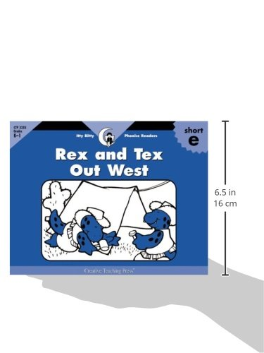 Rex and Tex Out West, Itty Bitty Phonics Reader (Itty-bitty Phonics Readers)