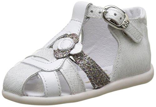 babybotte Glitter - Zapatos de primeros pasos Bebé-Niños Blanc (Blanc/Glitter)