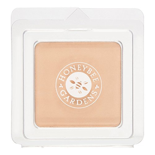 Honeybee Gardens Pressed Mineral Powder Foundation, Luminous