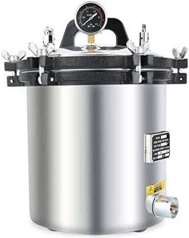 18L 5Gal Autoclaves Sterilizer Electric Heated Autoclave Steam Sterilizer