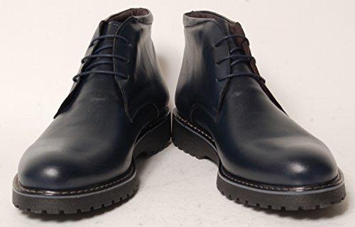 Antica Calzoleria Campana Schuhe | Mod. 12 | Boots | Plain | dunkelblau Dunkelblau