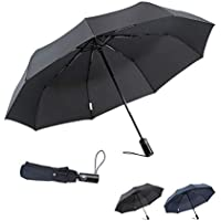 Boy Compact Automatic Windproof Travel Umbrella