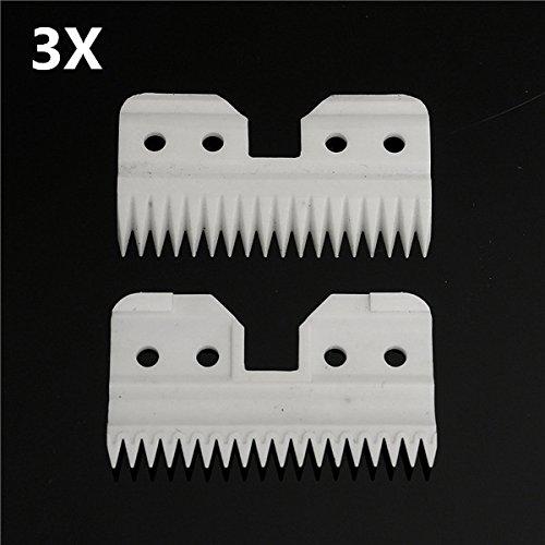 18歯セラミックカッターブレードa5シリーズClipper交換用3pcs   B074W31K13