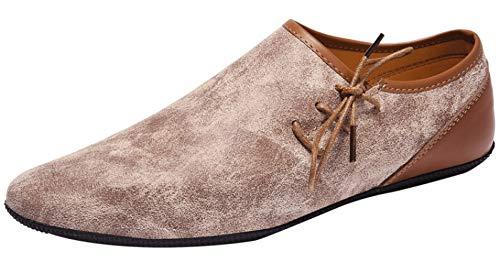 MYXUA 1512 5000 Mocasines Para Hombres Zapatos Livianos De Conducción  Liviana Elegantes Y Cómodos Lightbrown edd6d5d33683