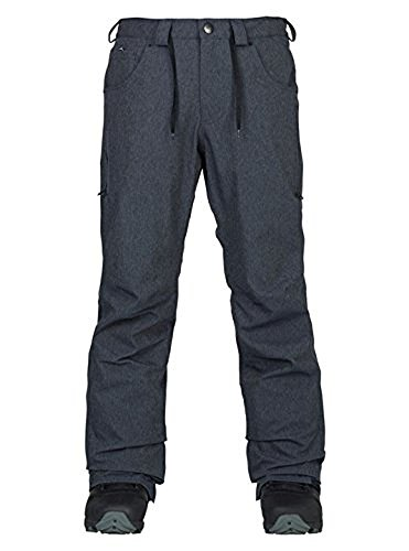 Men's Analog Thatcher Ski Snowboard Pants Denim Size Large (Analog Snowboard Pants)