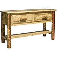 Montana Woodworks MWGCET Glacier Country Collection Entry Table