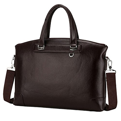 Business Leisure Capacity Shoulder Large Section Bag Horizontal Men Brown Bag Bag Bag r4wSZqr