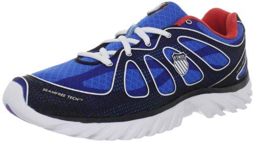 K-Swiss Blade Light Run II, Chaussures de running homme Bleu (Brilliant Blue/Red)