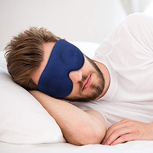 Contoured Sleep Mask for Men and Women