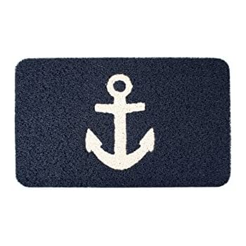 Amazon Com Kikkerland Anchor Doormat 30 By 18 Inch