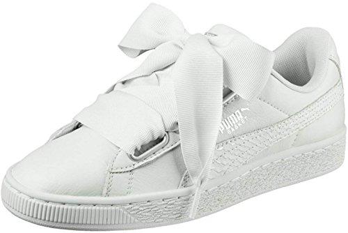 Puma Damen Korb Herz Oceanaire Schuhe, 37.5 EU, Blue Flower/Blue Flower