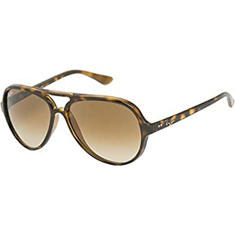Ray Ban The Cats 5000 Sunglasses in Light Havana,Sunglasses for Women, One Size,Light Havana