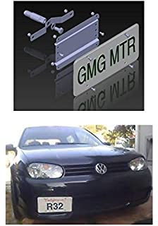 VW MKIV NO HOLES License Plate Bracket Kit 2002 2005 Jetta Golf