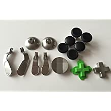 Replacement Part (15 pcs) 4 paddles Hair Trigger Locks+6 Swap thumbsticks +2 D-pads for Xbox One Elite Controller