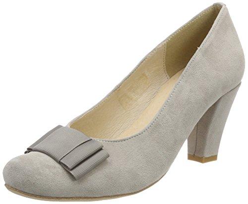 grau Gris Para Cerrada Hirschkogel De Tacón 1004504 Con Zapatos 031 Punta Mujer 7qgvx6w