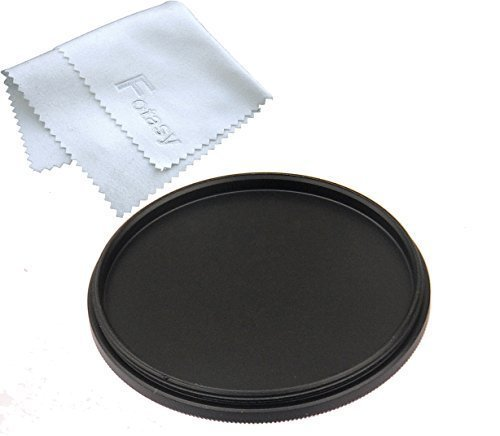 - Fotasy MC49 49 mm Metal Screw-in Lens Cap (Black)