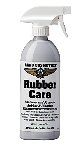 Tire Dressing Tire Protectant No Shine No Dirt Attracting Residue Natural  Satin/Matte Finish Aircraft Grade Rubber Conditioner Better than Automotive Products 16oz