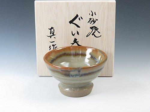 Koisago-Yaki Japanese pottery sake cup by Koisago-Yaki