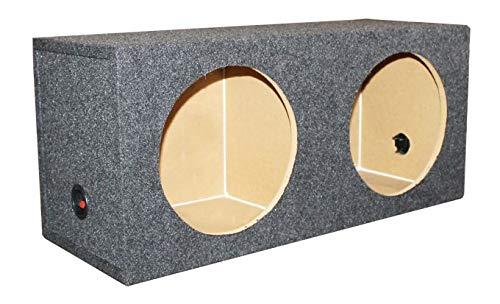 Sealed Car Subwoofer Sub Box Enclosure - 36 x 16.25 x 13.25 ()