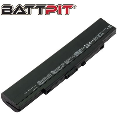 Battpit Laptop/Notebook Battery Replacement for Asus U43F-BBA5 (4400mAh/49Wh)