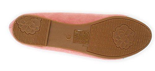 Ballerinas Damen Schuhe Sommerschuhe in 3 Farben Gr. 36 bis 41 Rosa