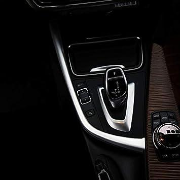 DIYUCAR Matte Red ABS For F20 F30 F32 F33 F34 F36 1 3 4 Series Car Gear Shift Frame Trim Right Hand Drive Accessories
