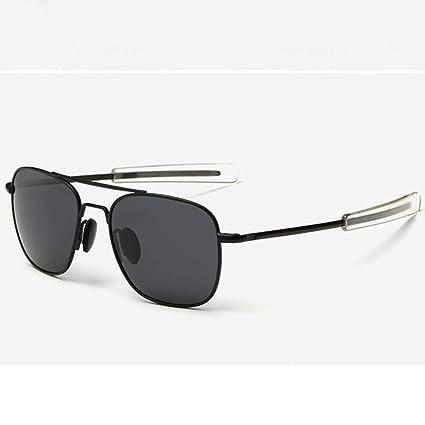 Gafas De Sol.La Gafas De Sol De Piloto Militar del Ejército Americano Mens Americana Marca Óptica Gafas De Sol Polarizadas Outdoor Viajes Verano Polvo ...