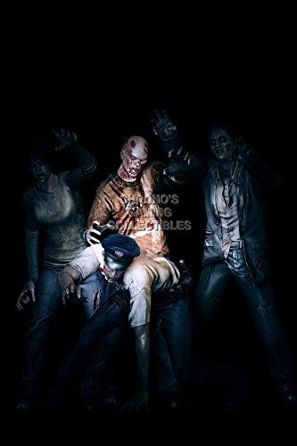 """Price comparison product image CGC Huge Poster - Resident Evil Zombie Group 6 5 4 3 2 Revelations Origins Collection Code Veronica X PS1 PS2 PS3 N65 GameCube Wii U - EXT304 (24"""" x 36"""" (61cm x 91.5cm))"""
