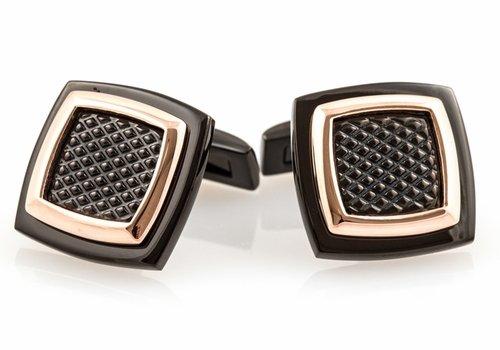 Rich Cufflinks Copper Cuff Links