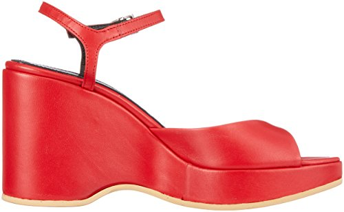 Austere Ladies Anne Plateausandalen Red (french Red)