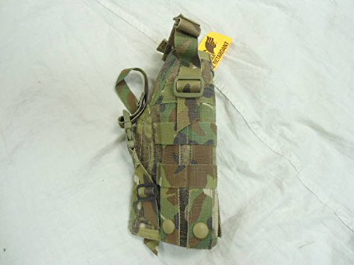 Eagle Industries Ambidextrous Multicam Universal MOLLE 92F Holster Spec Ops Issue - Ops Universal Tactical Leg Holster