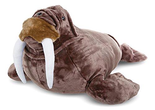 Walrus Animals (Melissa & Doug Giant Walrus - Lifelike Stuffed Animal (nearly 3 feet long))