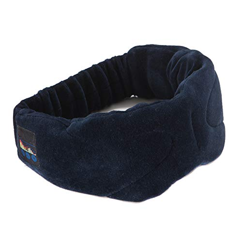 STARmoon - Auriculares de Diadema para Dormir con Bluetooth inalámbrico, Negro