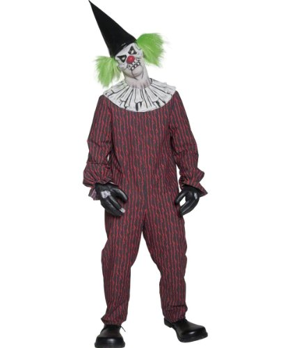 Smiffy's Men's Cirque Sinister Twisted Clown Costume