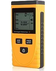 Eastdall Detector Emf,Medidor EMF Detector EMF Testador de radiação eletromagnética 5Hz — 3500 MHz com LCD de alarme de luz sonora para campo magnético e radiação de campo elétrico