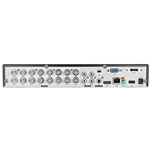 Samsung Sdh C5100 16 Channel 720p All In One Dvr Security System Black