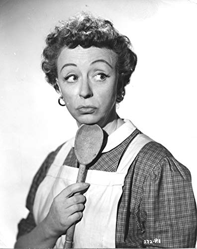 Thora Hird Original 8x10 Photo 1950's Rank Organisation Print Holding Spoon