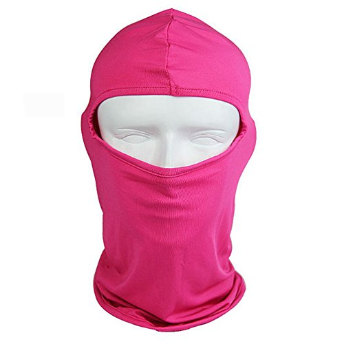 Od-sports Black Full Face Mask Windproof Bicyle Cycling Motorcycle Face Mask Winter Hood Cap Headwear Thermal for Sports Ski Snowboard - Vision Do Night Work Really Glasses