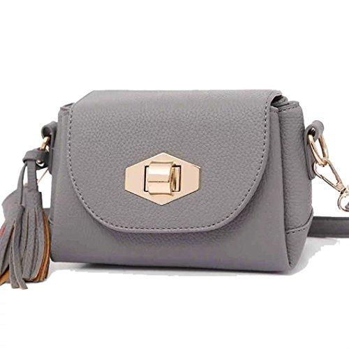 1b37336da4 Basilion Ladies Tassel Packs Miniature Students Shoulder Diagonal Cross Bag