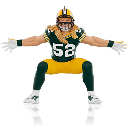 Ornaments Bay Packers Green - NFL Green Bay Packers Clay Matthews Ornament 2015 Hallmark