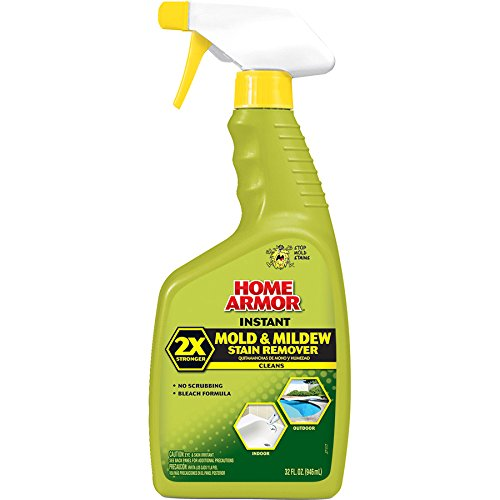 Home Armor FG502 Instant Mold and Mildew Stain Remover 2X, Trigger Spray 32-Ounce (Mold And Mildew Spray)
