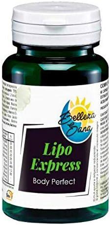 LIPOEXPRESS BODY PERFECT BELLEZA SANA 60 COMPRIMIDOS: Amazon.es ...