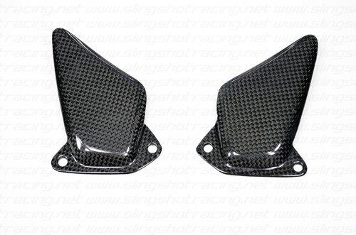 Ducati ST2 ST3 ST4 Carbon Fiber Fibre Heel Foot Guard Plate Shield Protector