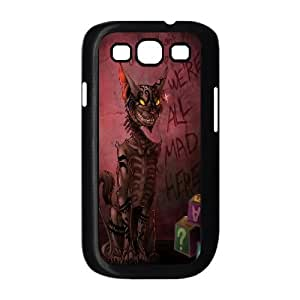 DDOUGS I We are all mad here High Quality Cell Phone Case for Samsung Galaxy S3 I9300, Personalized I We are all mad here Case